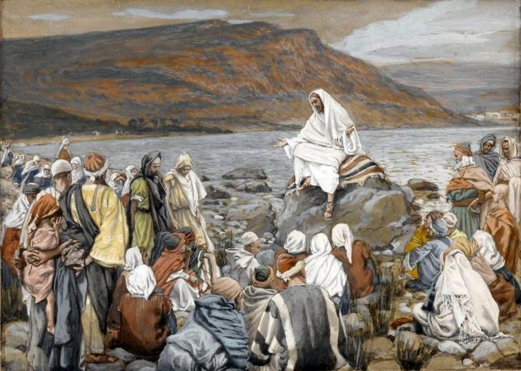 Brooklyn_Museum_-_Jesus_Teaches_the_People_by_the_Sea_(Jésus_enseigne_le_peuple_près_de_la_mer)_-_James_Tissot_-_overall